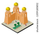 cityscape in isometric view.... | Shutterstock .eps vector #1359185852