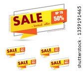 sale banner template design...   Shutterstock .eps vector #1359191465
