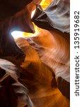 Antelope Canyon In Arizona In...