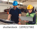 female workplace safety... | Shutterstock . vector #1359217382