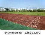 sports runway | Shutterstock . vector #135922292