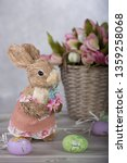 easter decorations  easter bunny | Shutterstock . vector #1359258068