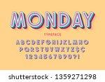 comical linear font design ... | Shutterstock .eps vector #1359271298