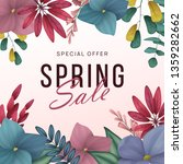 spring sale background with... | Shutterstock .eps vector #1359282662