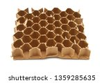 textured striped cardboard with ...   Shutterstock . vector #1359285635