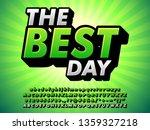 retro style best brand green... | Shutterstock .eps vector #1359327218