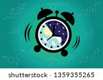 the circadian rhythms are... | Shutterstock .eps vector #1359355265
