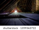 Old Attic Space With Roof...