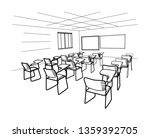 Empty Classroom During...