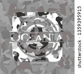 oceania on grey camouflage... | Shutterstock .eps vector #1359395915