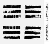 vector black paint  ink smear ... | Shutterstock .eps vector #1359442358