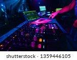 music mixer dj controller board ...   Shutterstock . vector #1359446105
