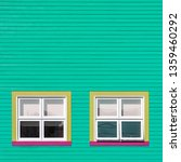 pink yellow and white windows... | Shutterstock . vector #1359460292