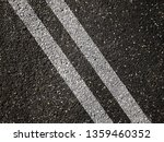 double white lines on asphalt... | Shutterstock . vector #1359460352