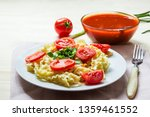 pasta with fresh tomatoes and...