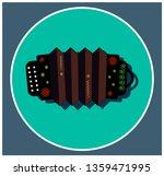 musical instrument accordion... | Shutterstock .eps vector #1359471995