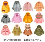 collection of fashionable... | Shutterstock .eps vector #1359487442