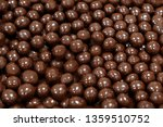 chocolate dragee abstract... | Shutterstock . vector #1359510752