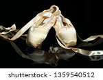 a pair of ballet shoes ... | Shutterstock . vector #1359540512