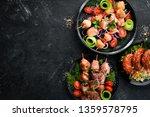 shish kebab  kebab  barbecue.... | Shutterstock . vector #1359578795