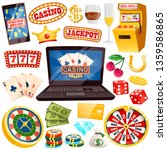online casino with all kinds of ... | Shutterstock . vector #1359586865