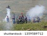 red village  russia   august 26 ... | Shutterstock . vector #1359589712