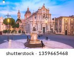 Piazza Duomo In Catania With...