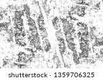 grunge black and white texture. ... | Shutterstock . vector #1359706325