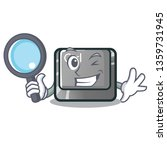detective ctrl button isolated...   Shutterstock .eps vector #1359731945