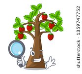 detective strawberry tree in...   Shutterstock .eps vector #1359747752