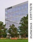 modern office building in santa ... | Shutterstock . vector #1359770378
