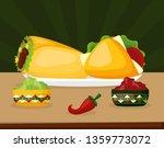 mexico cinco de mayo | Shutterstock .eps vector #1359773072