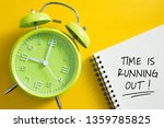 time is running out concept...   Shutterstock . vector #1359785825