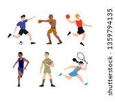 illustration of sports... | Shutterstock .eps vector #1359794135