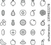 thin line vector icon set   a... | Shutterstock .eps vector #1359822278