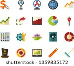 color flat icon set   cemetery...   Shutterstock .eps vector #1359835172