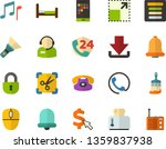 color flat icon set   note flat ...