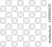 black and white chessboard... | Shutterstock . vector #1359890225