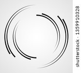 lines in circle form . spiral... | Shutterstock .eps vector #1359910328