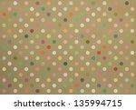Polka Dot Fabric Background In...