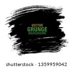 black vector grunge background | Shutterstock .eps vector #1359959042
