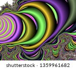 Fractal Background  Abstract...