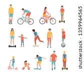 people outdoor activities...   Shutterstock .eps vector #1359964565