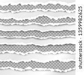 paper borders.  paper texture... | Shutterstock .eps vector #1359982625