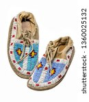 Pearl Embroidered Moccasins Of...