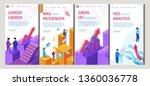 career ladder  mail best... | Shutterstock .eps vector #1360036778