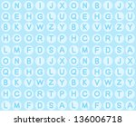 seamless hand drawn pattern... | Shutterstock .eps vector #136006718