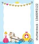 a children's style illustration ...   Shutterstock .eps vector #1360092122
