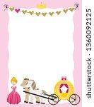 a children's style illustration ...   Shutterstock .eps vector #1360092125