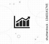statistics  chart  vector best... | Shutterstock .eps vector #1360141745